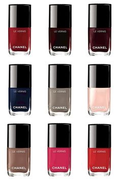 Chanel Le Vernis Duo Longue Tenue & Le Gel Coat! Which colour do you love? #Chanel #NailVarnish
