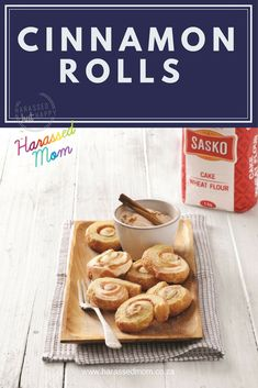 These cinnamon rolls are perfect for the festive seaon!