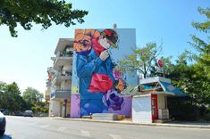 Street art in Volos , Greece Art Articles, Urban Art, Greece, Street Art, City Art, Greece Country