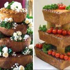 Pork Pie wedding cakes via Mail Online UK and Wilsons Butchers Pie Wedding Cake, Wedding Desserts, Wedding Cake Alternatives, Traditional Wedding Cakes, Cake Art, Let Them Eat Cake, Catering, Food And Drink, Pork