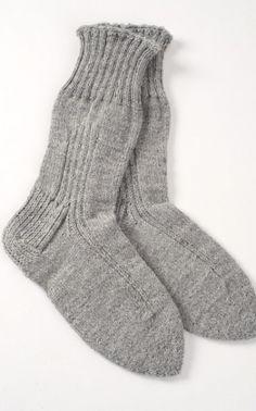 Pitkävartiset villasukat Novita 7 Veljestä Knitting Projects, Knitting Patterns, Crochet Patterns, Crochet Socks, Knit Crochet, Knit Socks, Cute Underwear, Winter Socks, Boot Cuffs