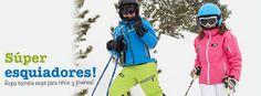Super esquiadores! Söll, ropa de esquí para niños y jóvenes.