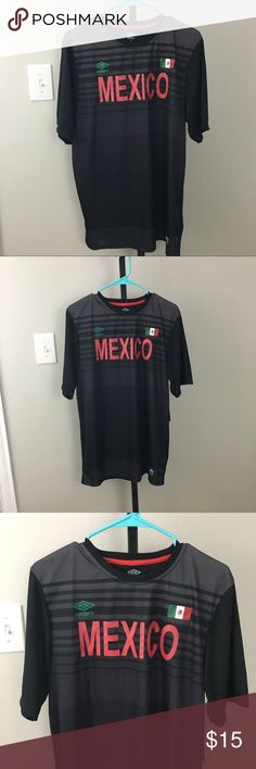 "Imbroglio Mexico Soccer Jersey New. Underarm across 21.5"" Umbro Shirts Tees - Short Sleeve"