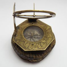 A circa 18th century Augsburg Pocket Dial from Leon's Militaria.