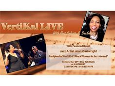 VertiKal LIVE With Featured Guest Joan Cartwright 05/26 by VertiKal Live | Entertainment Podcasts