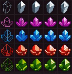 Tutorial: How to draw Crystals by oni1ink.deviantart.com on @DeviantArt