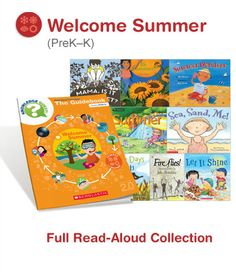 Thinking about summer already? Get your students ready with books and activities!