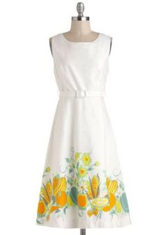 Cute Farm to Tablescapes Dress :: Cute Dresses 4U :: Dress Store