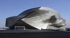 View full picture gallery of Dalian International Conference Center Innovative Architecture, Commercial Architecture, Futuristic Architecture, Amazing Architecture, Art And Architecture, Architecture Details, Unusual Buildings, Interesting Buildings, Amazing Buildings
