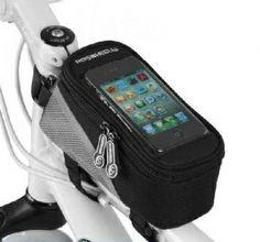 Bolsa para cuadro Roswheel con capacidad de 1 litro, además de incluir marco para tu Smartphone. Comprueba sus características en nuestra web www.mobeo.es
