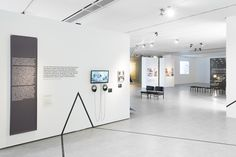 """Exhibition """"The Plastic Arts of Toruń. The Interior  Design 1945-2000"""" curated by: Marta Kołacz, Cezary LIsowski, Piotr Lisowski exhibition design: Tomasz Chwialkowski"""