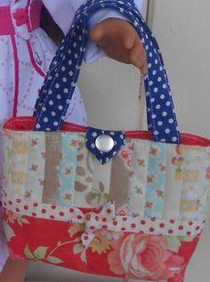 Doll tote bag free pattern