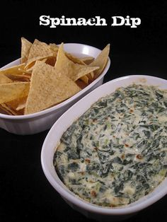 Quick and spinach dip sure to please any crowd. Quick and spinach dip sure to please any crowd. Hot Spinach Dip, Chopped Spinach, Spinach Dip Recipe Easy, Spinach Cheese Dip, Spin Dip Recipe, Frozen Spinach Recipes, Baked Spinach Dip, Creamy Spinach, Snacks