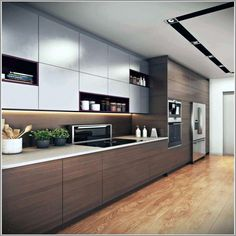 Kitchen cabinet design ideas can extend therefore only to how your house is la Modern Kitchen Cabinets Cabinet Design Extend House Ideas Kitchen Design Your Kitchen, Kitchen Cabinet Design, Kitchen Layout, Interior Design Kitchen, Interior Modern, Modern Luxury, Interior Ideas, Country Interior, Interior Architecture