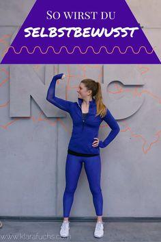 Selbstvertrauen - warum es so wichtig ist und die besten Tipps - Fitnessblog - Klara Fuchs