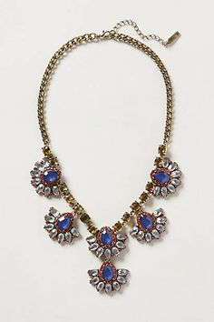 Fanned Petal Necklace @anthropologie
