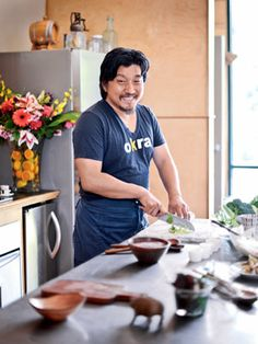 Chef Edward Lee explains how to turn veggie peels and stalks into delicious, healthy winter meals.