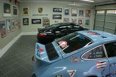 Garage Design: Porsche fan.....
