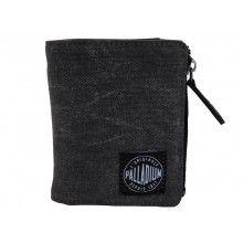 Palladium Enzyme Washed Canvas Wallet Dark Grey Canvas Wallet, Dark Grey, Bags, Handbags, Bag, Totes, Hand Bags