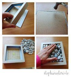 TUTO DIY, idée de dessous de plat original et facile à faire ! - Stéphanie bricole