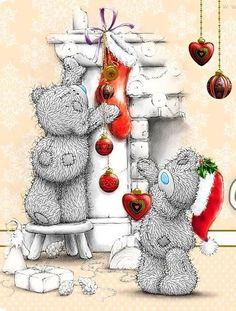 Christmas Tatty Teddy ❤