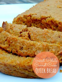 Ally's Sweet and Savory Eats: Sweet Potato Carrot Cake Quick Bread