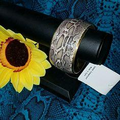 New Bracelet Snakeskin look Snakeskin look Jewelry Bracelets