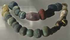 Glass Beads, Viking Age, Sweden
