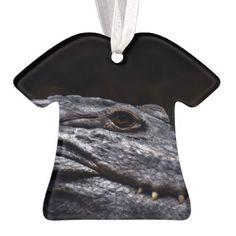 Crocodile Alligator Reptile Scary Animal Aquarium Ornament - animal gift ideas animals and pets diy customize