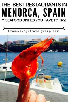 The Best Restaurants in Menorca, Spain - 7 Seafood Dishes!