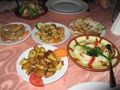WorldWide Wanderings - Lebanese Meze - Al Basha Restaurant Kololi The Gambia