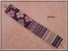 Manchette pop... Loom Bracelet Patterns, Loom Bracelets, Loom Patterns, Beading Patterns, Loom Bands, Bracelet Tutorial, Beads, Beadwork, Tutorials