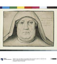 Hans Holbein der Ältere, Konrad Merlin, Abt von St. Ulrich (Augsburg, 1496-1510, Staatliche Museen zu Berlin)