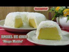 PASTEL DE COCO Atrapa Maridos SIN HORNO HECHO EN LA COCINA, fácil y delicioso - YouTube