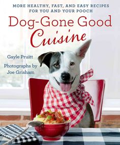 Dog-Gone Good Cuisine is a fun, healthy recipe book for humans and their canine kids. While there are other, successful doggie cookbooks in the marketplace, Pruitts second offering is unique in that t