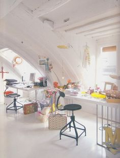 Perfect space for craftwork