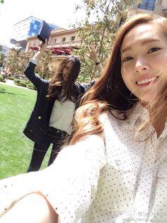 SNSD Jessica f(x) Krystal LA 2014