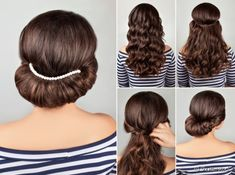 Hairstyles for special occasions - over 100 striking ideas #hairstyles #ideas #occasions #special #striking Crazy Hair, Dope Hairstyles, Elegant Hairstyles, Formal Hairstyles, Straight Hairstyles, Greek Goddess Hairstyles, Stylish Hair, Hair Photo, Gorgeous Hair