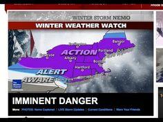 Blizzard Hits New England, Boston, New York - Christopher Dorner Update