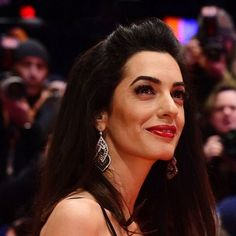 Amal Clooney Stuns in a Vintage Yves Saint Laurent Gown