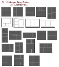 collage templates for lightroom 3 - free download