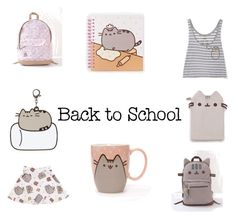 """""""#PVxPusheen"""" by antoinette-verra-ciacciarelli ❤ liked on Polyvore featuring Pusheen, contestentry and PVxPusheen"""
