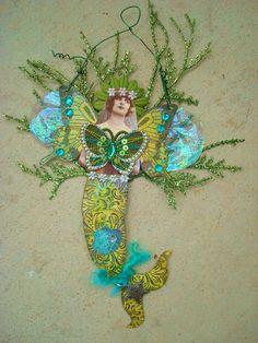 Paper Dolls, Art Dolls, Sea Costume, Collages, Domino Art, Alien Drawings, Tarot, Mermaid Pictures, Mermaid Dolls