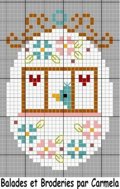 10 Easter Egg Inspired Cross-Stitch Patterns