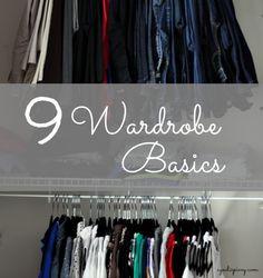 Basic Wardrobe Essentials // House of Rose via Walking in Grace & Beauty