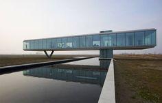 Villa Kogelhof, Paul de Ruiter, Kamperland, Zeeland, Niederlande, 2013, Foto Gesamtansicht, Außenraum
