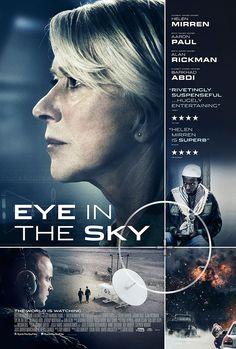 Eye in the Sky, on the flight to Seattle, September. Great film, full of suspense.