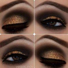 Dourado + marrom