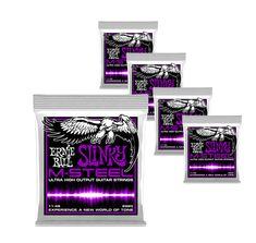 Ernie Ball M-Steel Skinny Top Heavy Bottom Slinky Electric Guitar Strings 10-52  #ErnieBall