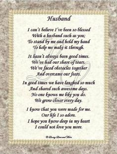 Free Anniversary Poems for Husband | to order and personalize the poem above with a specific color and the ...